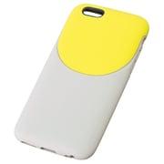 TD-2011-038 [iPhone 6/6s 4.7インチ用 ソフトケース 2トーンスタイル ライトグレー×ライム]