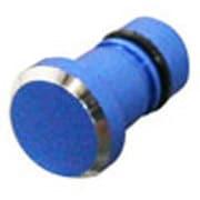 OCP-A06 Aluminum Earphone cap ブルー [3.5mmイヤホンジャック用]