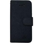 OWL-CVIP50BK [iPhone 6 Plus/6s Plus専用 合皮カバー 手帳型タイプ ブラック]