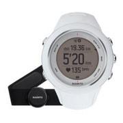 SS020680000 [Ambit3 Sport HR(アンビット3スポーツ HR) 充電式 GPS機能 心拍ベルト付き ホワイト 正規輸入品]