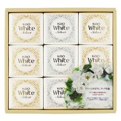 ホワイトセレクト 上品な白い花束の香り ギフト K・WS-15 [石けん 85g×9個]