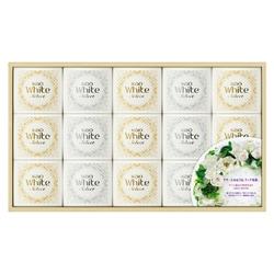 ホワイトセレクト 上品な白い花束の香り ギフト K・WS-25 [石けん 85g×15個]