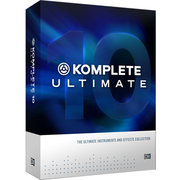 KOMPLETE 10 ULTIMATE [インストゥルメント/エフェクト・コレクション]