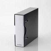 CCD-BC01BK [DVD CD不織布ケース専用ファイル ケース付 24枚収納 ブラック]