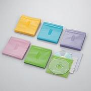CCD-NIW100ASO [DVD CD不織布ケース 両面収納 100枚 5色]
