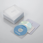 CCD-NIW100WH [DVD CD不織布ケース 両面収納 100枚 ホワイト]