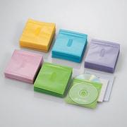 CCD-NIW300ASO [DVD CD不織布ケース 両面収納 300枚 5色]