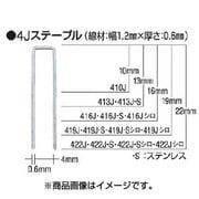 413J [タッカ用ステープル 肩幅4mm]
