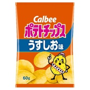 ポテトチップス うすしお味 60g [菓子]