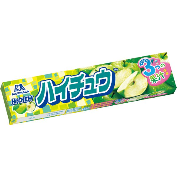 ハイチュウグリーンアップル 12粒 [菓子]