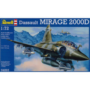 04893 ミラージュ 2000D [1/72スケール 組立式 プラモデル]