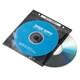 FCD-FR50BKN [DVD CD不織布ケース リング穴付き 50枚入り ブラック]