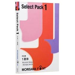 MORISAWA Font Select Pack 1 [Windows/Mac]