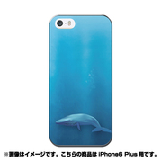 ip6l-0277-uvbase-cl [デザインケース iPhone 6 Plus/6s Plus 5.5インチ BL Whale]