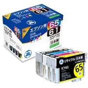 JIT-E61654P [エプソン IC4CL6165互換 リサイクルインクカートリッジ 4色パック]