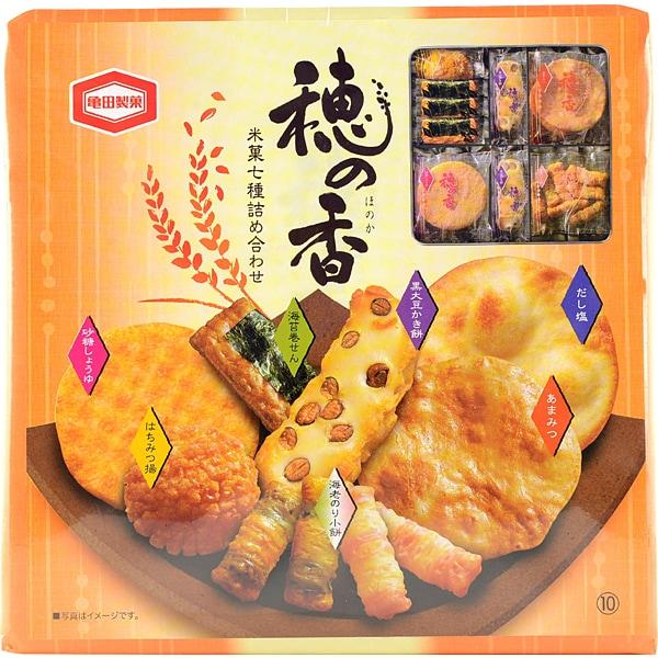 亀田製菓 穂の香10 7種詰合 [菓子]