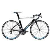 AMA040475 EKWA [ロードバイク REACTO 400 47cm 700×23C 外装22段変速(フロント2段×リア11段) ブラック/ホワイト(プロセスブルー)]
