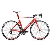 AMA040475 ERW3 [ロードバイク REACTO 400 47cm 700×23C 外装22段変速(フロント2段×リア11段) レッド/ホワイト(ブラック)]