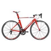 AMA040505 ERW3 [ロードバイク REACTO 400 50cm 700×23C 外装22段変速(フロント2段×リア11段) レッド/ホワイト(ブラック)]