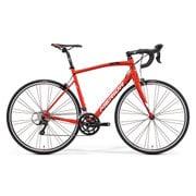 AMR020475 ER12 [ロードバイク RIDE 200 47cm 700×25C 外装18段変速(フロント2段×リア9段) レッド(ブラック/ホワイト)]