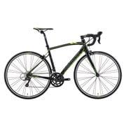 AMR020505 EK29 [ロードバイク RIDE 200 50cm 700×25C 外装18段変速(フロント2段×リア9段) シルクブラック(D.グレー/グリーン)]
