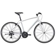 AMC1415 ES10 [クロスバイク CROSSWAY BREEZE TFS 100-R 41cm 700×32C 外装24段変速(フロント3段×リア8段) アイスシルバー]