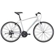 AMC1465 ES10 [クロスバイク CROSSWAY BREEZE TFS 100-R 46cm 700×32C 外装24段変速(フロント3段×リア8段) アイスシルバー]