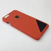 LB-HCIP6S-AV/D6-OE [iPhone 6/6s 4.7インチ Lamborghiniライセンスケース ハード ケース オレンジ]