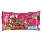 リスカ 徳用しっとりいちご 160g [菓子]