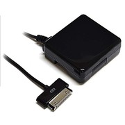 KYAC034 [Dock端子搭載iPhone4s/4/iPod touch/iPod対応 AC充電器 ブラック]