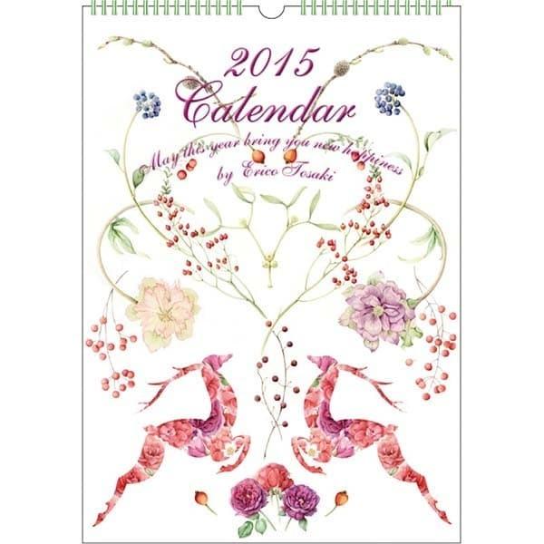 CAL-013 [2015年カレンダー フラワーパラダイス L]