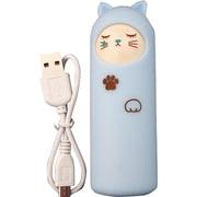 アニマル充電器 [リチウム充電器 キャット cry BL  2200mAh USB出力:1ポート 最大:1A]