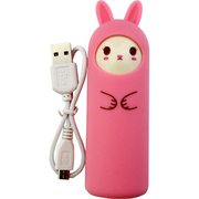 アニマル充電器 [リチウム充電器 ラビット smile PK 2200mAh USB出力:1ポート 最大:1A]