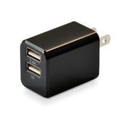 CUBEAC224BK [USB充電器 cubeタイプ224 ブラック]