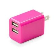 CUBEAC224PK [USB充電器 cubeタイプ224 ピンク]
