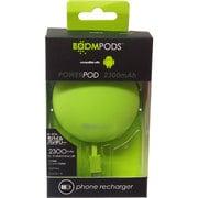 IBP-PPAGRN [モバイルバッテリー powerpods(パワーポッズ) for micro-USB 2300mAh USB出力:1ポート 最大:2.1A グリーン]