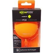 IBP-PPAORA [モバイルバッテリー powerpods(パワーポッズ) for micro-USB 2300mAh USB出力:1ポート 最大:2.1A オレンジ]
