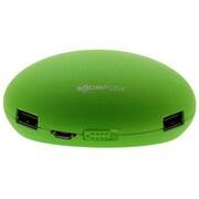 IBP-MXPGRN [モバイルバッテリー 2×USBモデル(USB出力:2ポート 最大合計:1.5A) Maxpods(マックスポッズ) 5200mAh グリーン]