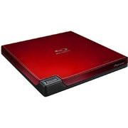 BDR-XD05R2 [USB3.0接続 BDXL対応 外付型ポータブル クラムシェル型 BD/DVD/CDライター レッド]