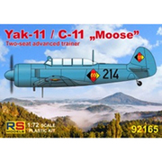 RSM92165 [1/72スケール Yak-11/C-11 ムース(東ドイツ、オーストリア、ドイツ) プラモデル]