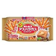 ギンビス ミニアスパラガス こんがりバタートースト味 6P