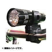 PINE 9LEDアルミフレームライト R-003B ブラック [自転車用ライト]