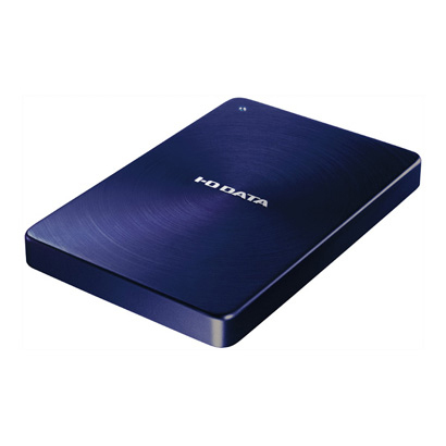HDPX-UTA500B [USB 3.0/2.0対応 ポータブルハードディスク 「カクうす」 500GB ブルー]