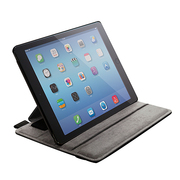 TB-A14PLF2BK [iPad Air 2 ソフトレザーケース 4段階調節 ブラック]