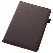 RT-PA6LC1-DK [iPad Air 2用 フラップタイプタイプ・レザージャケット 合皮 ダークブラウン]