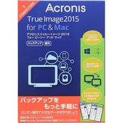 Acronis True Image 2015 for PC and Mac 3台 [Windows/Mac用ソフト]