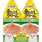 金のだし クリーム [猫用 まぐろ かつお かつお節 ささみ入り 60g(30g×2袋)]