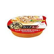 CIAO 焼かつお カップ [猫用 スープ しらす・ほたて貝柱・ささみ入り 60g]