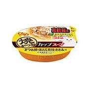 CIAO 焼かつお カップ [猫用 スープ 高齢猫用 かつお節 ほたて貝柱 ささみ入り 60g]