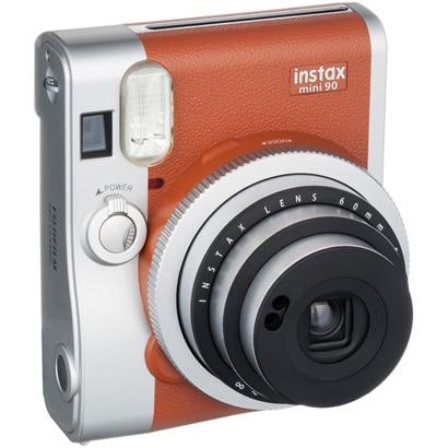 instax mini 90 ネオクラシック ブラウン [インスタントカメラ チェキカメラ]